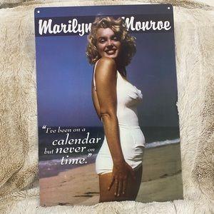 Metal Marilyn Monroe Picture
